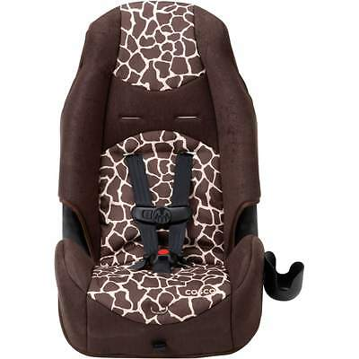 Cosco Highback 2-in-1 Booster Car Seat, Quigley Toddler Baby Kids Giraffe Child