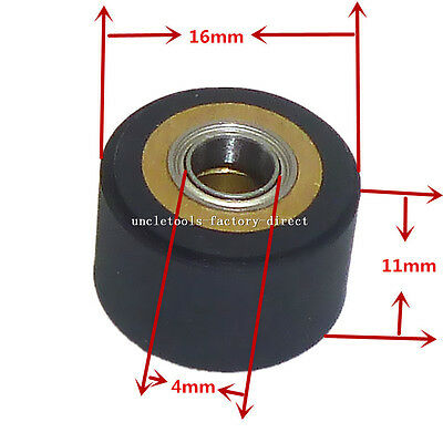 Pinch Roller 4x11x16mm Paper Feed Wheel Cutting Plotter Printer Parts For Roland