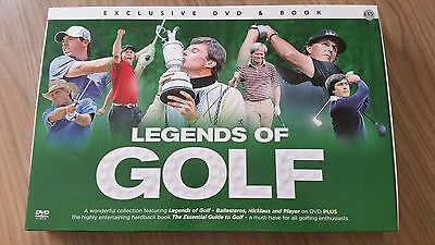 Legends of Golf DVD and Book Set