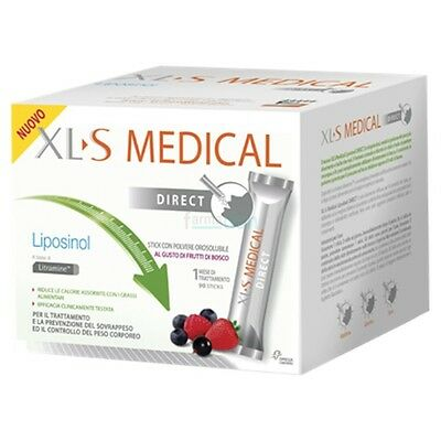 Xls Medical Liposinol Direct 90 Bustine Orosolubili Cattura Grassi