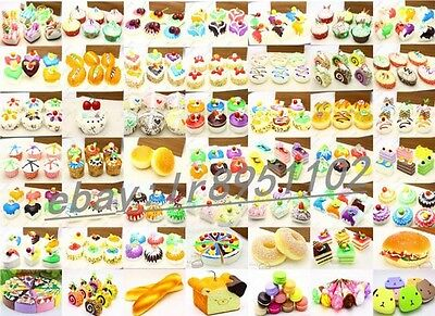 All kinds Fake Food PU Kitchen Household Decor Cake bread model Free shipping