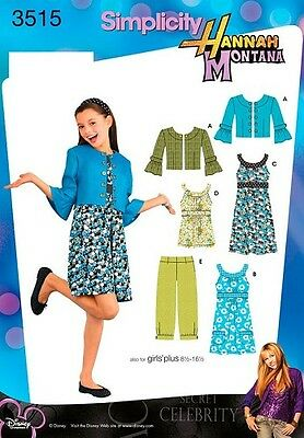 Simplicity Sewing Pattern 3515 Girl's/Girls Outfits