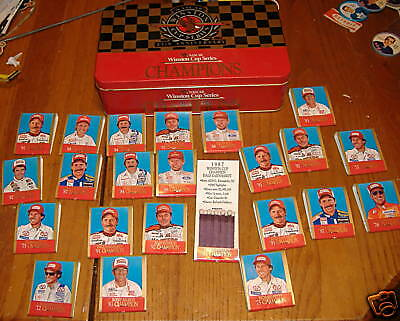 match books winston cup series champions