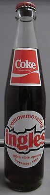 Coca-Cola 10 oz bottle Ingles 100th Store Opening 1985