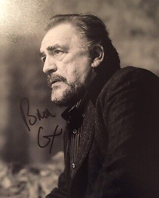 Brian Cox ~ HAND SIGNED ~ 10x8 photo ~ RED ~ AUTOGRAPH