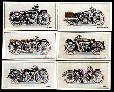 Wills Cigarette Cards - Motor Cycles - 6 different (2)