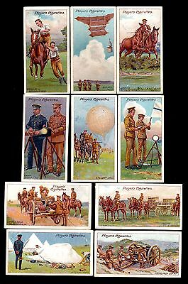 Player's cigarette cards - Army Life - complete set