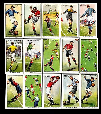 Player's cigarette cards - Hints on Association Football - complete set