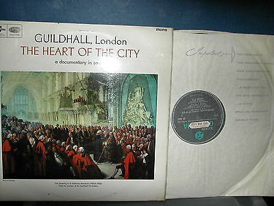 SX 6032 Guildhall London The heart of the city LP 1966 swearing in of  Newman