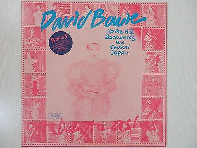 """David Bowie - Up The Hill Backwards 12"""" Vinyl Single Plus Limited Edition Stamps"""