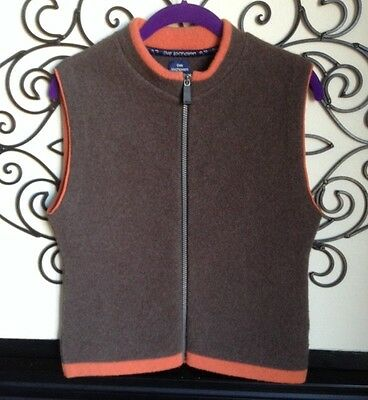 live lochaven made in scotland 100% lambswool vest size small