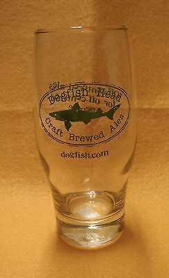 Dogfish Head Craft Brewed Ales Beer Glass