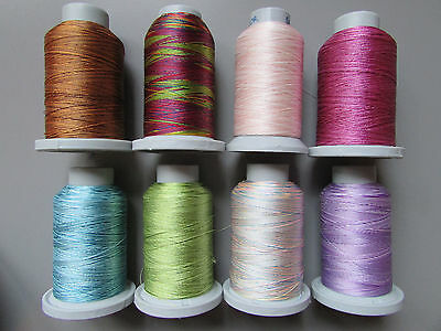 Brildor Variegated Machine Embroidery Thread 1000 Metres