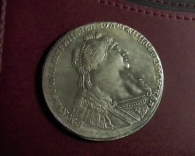 Russian 1736 1 Ruble Coin First-Class