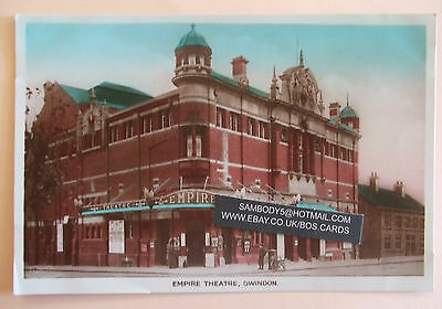 RP Postcard posted 1941 EMPIRE THEATRE SWINDON WILTSHIRE