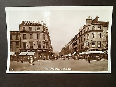 Vintage Real Photo Postcard - Dundee, Reform Street - 1920's