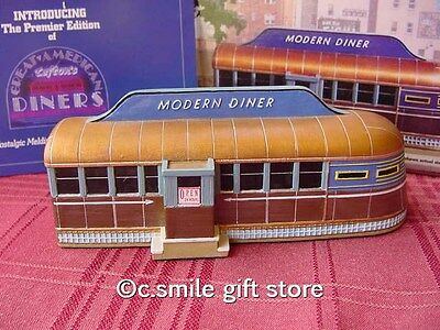 Lefton's Great American Diners Collection *THE MODERN DINER* Roadside USA MIB