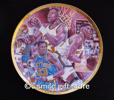 Sports Impressions *PATRICK EWING* NBA Basketball Gold LE Signature Plate