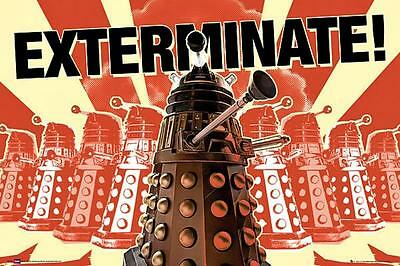 Doctor Who Daleks : Exterminate - Maxi Poster 91.5cm x 61cm new and sealed