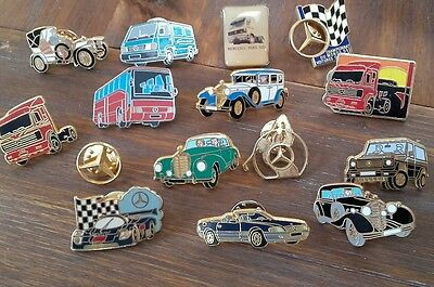 Lot De 15 Pins Mercedes Dont Arthus Bertrand