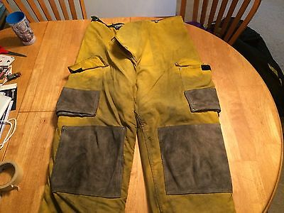 Janesville Firefighter Pants Turnout Bunker Fire Gear Size 42L Item 27