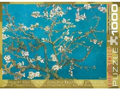 Eurographics 1,000 Piece Jigsaw Puzzle - Van Goph: Almond Tree Branches