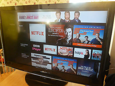 """LG 47"""" HD Ready 1080p LCD TV Television With Stand And Remote Control"""