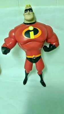 Disney The Incredibles Talking Mr Incredible Action Figure Working Sounds