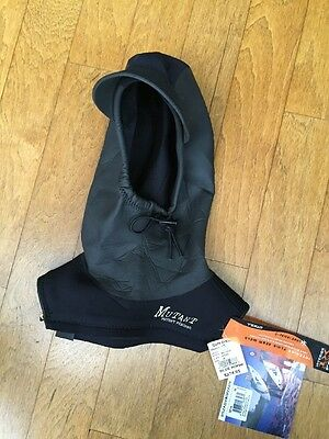"""*NWT* ONIELL """"MUTANT"""" Hood for Cold Water Surfing Size M Synch Face/Zip Neck"""