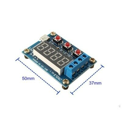 1.2-12v Battery Capacity Tester - External Load Discharge Tester v2.1