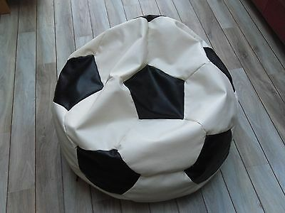 Bean bag - Football Leather Effect. Collection welcome from Southend, Essex