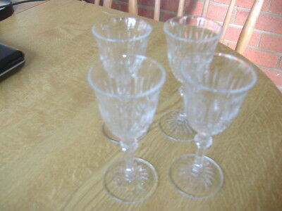 Vintage 4 Small Patterned Glasses