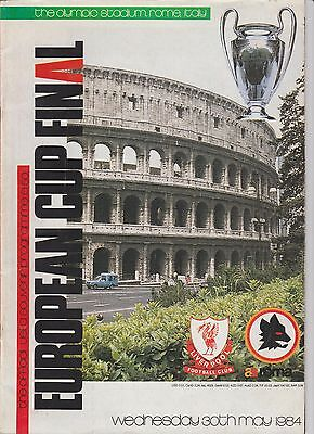 Orig.PRG   European Cup 1983/84   FINAL  AS ROM - FC LIVERPOOL  !! V ERY RARE