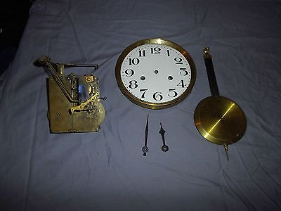 vintage wall clock movement for spares or repairs