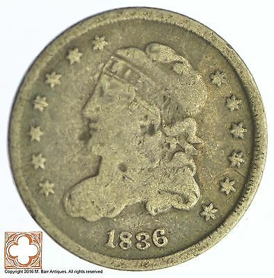 1836 Capped Bust Half Dime *XB37