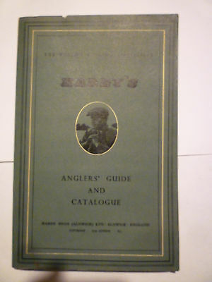 Vintage Hardy's Anglers Guide/Fishing Tackle Catalogue 1954