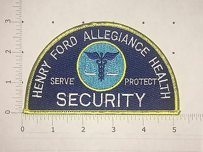 Henry Ford Allegiance Health Security Patch  - Jackson, Michigan