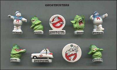 Retired Miniature Ghostbuster Figurine Set, Stay Puft Marshmallow Man *mint*