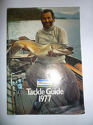 Shakespeare 1977 Fishing Tackle/Equipment Guide/Catalogue (Rods/Reels/Fly/Sea)