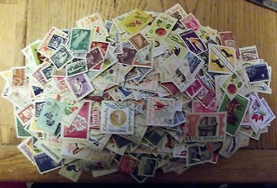 Romania Used Stamps Off Paper Many Hundreds With Duplication Not Hinged