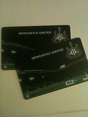 Newcastle United Season ticket x 2
