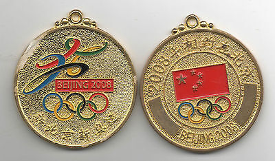 Orig.remembrance medal   Olympic Games BEIJING 2008  !!  VERY RARE