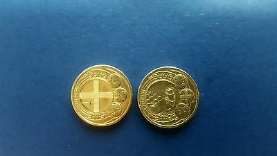 Rare £1 One Pound Coin x2 Capital Cities London/ Belfast 2010