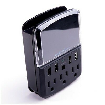 BlueDiamond Defend Space Saver + Charge, 540J, 3 Outlets, 4 Ultra Quick-Charge U