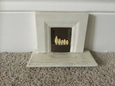 dolls house fireplace 1/12th