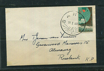 South Africa 1960 Fdc Stamp Cover Sanae