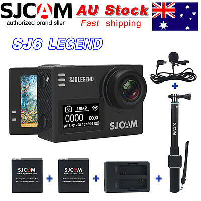Original SJCAM SJ6 LEGEND 4K WiFi Action Camera Novatek NTK96660 Chipset HD Cam