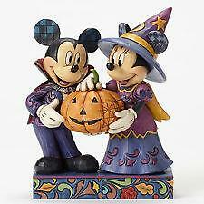 Jim Shore Mickey & Minnie Halloween Hosts #4051978