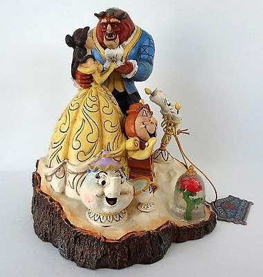 Disney Traditions by Jim Shore Beauty and the Beast Disney Figurine