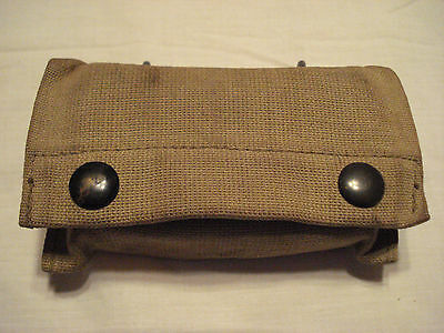 A Nice Original Ww-1, 1919 First Aid Pouch W/ Sealed 1916 Metal Packet #a-15